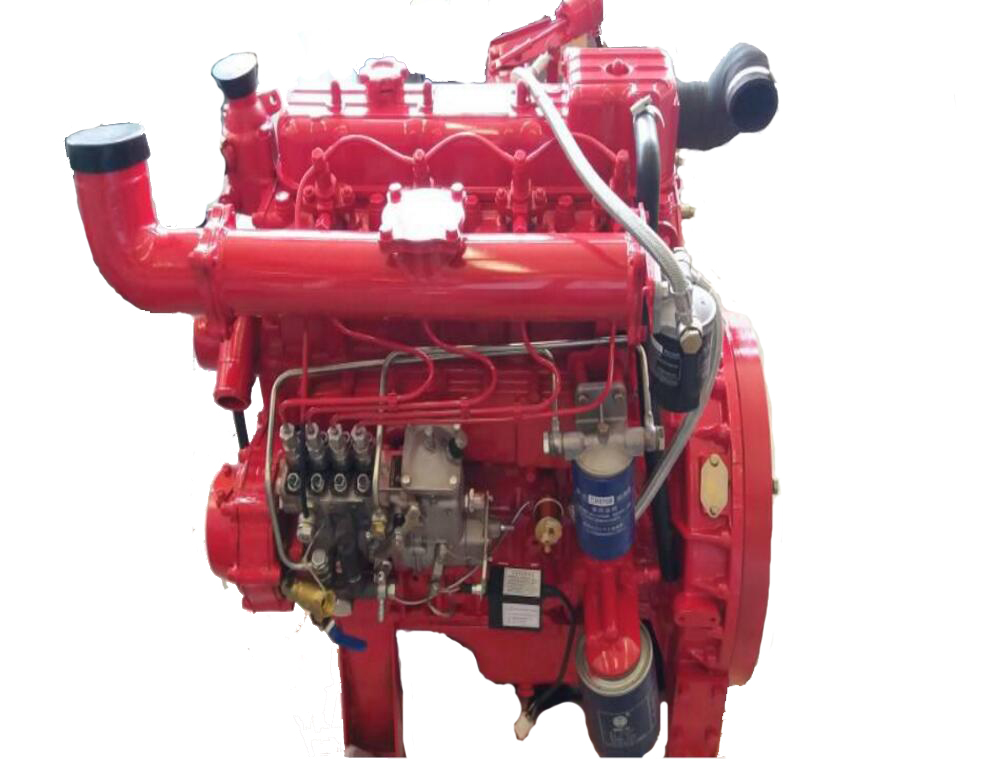 Diesel engine for water pump